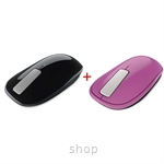 RAYA promo~Microsoft EXPLORER TOUCH MOUSE (Black + Pink)