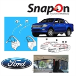 Groovy Ford PICKUP SNAP-ON 4.0 (MAGNET) Car Sunshades