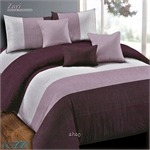 Essina Zuri Microfiber Plush 500TC Fitted Sheet Set with Comforter