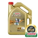 Castrol EDGE 5W-40 SN Engine Oils for Petrol and Diesel Cars (4L)