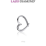 Lazo Diamond 9K White Gold Diamond Pendant - DPC815