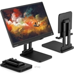 Pepper Jobs Monitor Stand for Monitor, Tablet & Notebook (12 inch to 17 inch) - SSS-T6