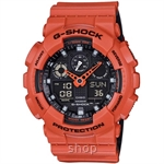 Casio G-Shock GA-100L-4A Special Color Series Ana-Digital Watch