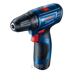 Bosch GSR 120-LI (GEN 2) Professional Cordless Impact Drill Driver (with 2 Batteries & 1 Charger) - 06019G80L0