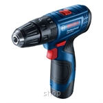 Bosch GSB 120-LI Professional Cordless Impact Drill (with 2 Batteries & 1 Charger) - 06019G81L0