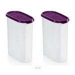 Tupperware Modular Mates Oval IV (2pcs) 2.3L