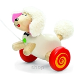 Wonderworld Toys Pull Along Poodle - WW-1136