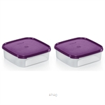 Tupperware Modular Mates Square I (2pcs) 1.2L