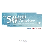 Popular Gift Voucher RM100 (RM50 x 2pcs)