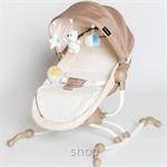 Akarana Baby Koa Swivel Rocker Bassinet Creamy Brown - RB360