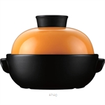 Color King 1500ml Braising Pot Orange - 3459-1500