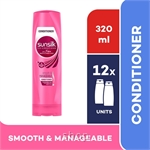 [12 unit] Sunsilk Conditioner Smooth & Manageable 320ml - 67465382