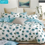Essina Vintage Blue 100% Cotton 620TC Comforter Set