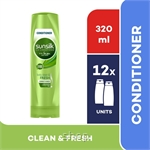 [12 unit] Sunsilk Conditioner Clean & Fresh 320ml - 67561315