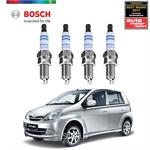 Bosch Platinum Spark Plug Perodua Viva 660i [4pcs] - 0242236618