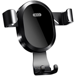 XO 10W Wireless Charger with Air Vent Gravity Linkage Car Phone Holder - WX015