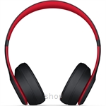 Beats Solo3 Wireless On-Ear Headphones - The Beats Decade Collection Defiant Black-Red