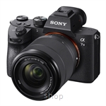 Sony α7 III with 35mm Full-frame Image Sensor (Body + 28-70mm Zoom Lens) - ILCE-7M3K/BCAP2 FOC 32GB UHS II Class 10 4K Memory Card (Sony Warranty)