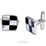 Kelvin Gems Roxy Cufflinks 925 Sterling Silver