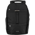 Pierre Cardin 18 Inch Laptop Backpack with USB Port Black - 47200280
