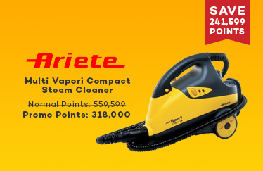 Ariete Multi Vapori Compact Steam Cleaner