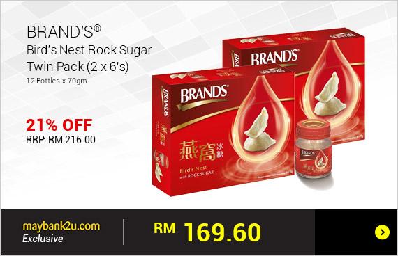 BRAND'S® Bird's Nest Rock Sugar Twin Pack