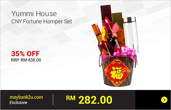 Yummi House CNY Fortune Hamper Set