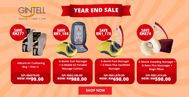 GINTELL Year End Sale